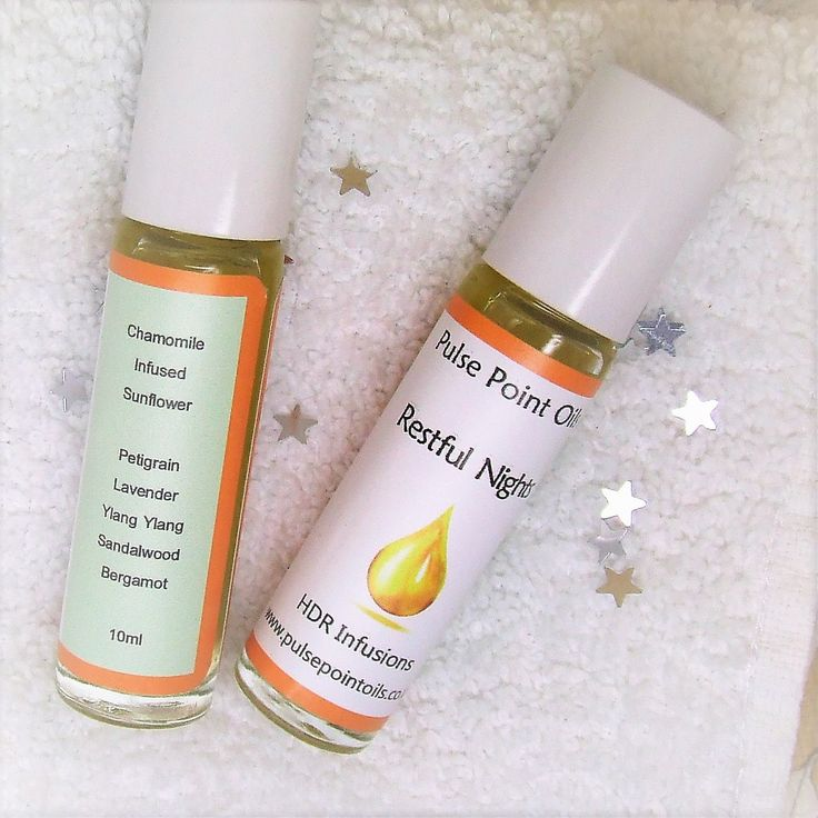 Natural sleep remedy oil from Pulse Point