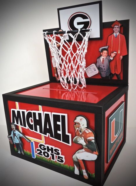Themed Gift Box Ideas : Best images about basketball themed party events on