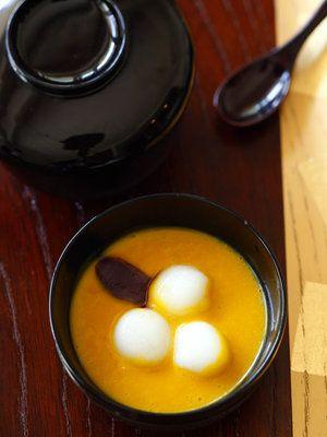 【ELLE a table】かぼちゃの冷たいお汁粉レシピ|エル・オンライン
