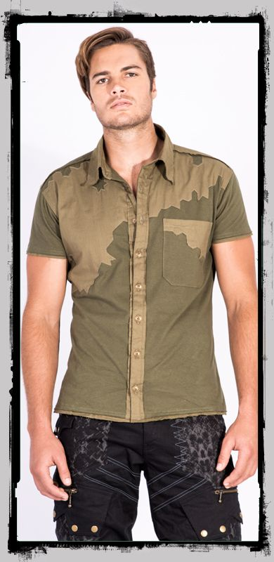 Have you been searching for that gorgeous, earthy totally unique sleeve shirt that is still sizzlingly stylish and masculine. This unique stretchy shirt will leap out and grab you. With a tribal two tone colour detail that follow an awesome abstract one off design, decorating the front back and sleeves. The detailed features and a raw rustic edge make this …
