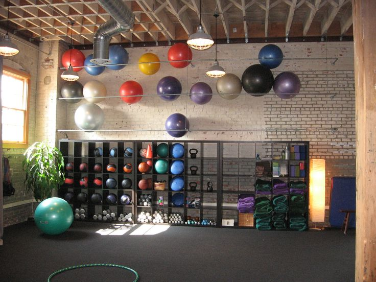 Home Gym - personal fitness - Personal training at Gem Studio - http://amzn.to/2fSI5XT