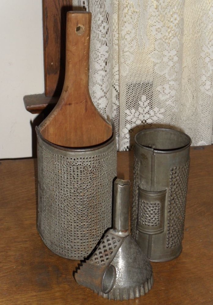 from my collection ...Ohio's Attic These are wonderful Graters!!!!!