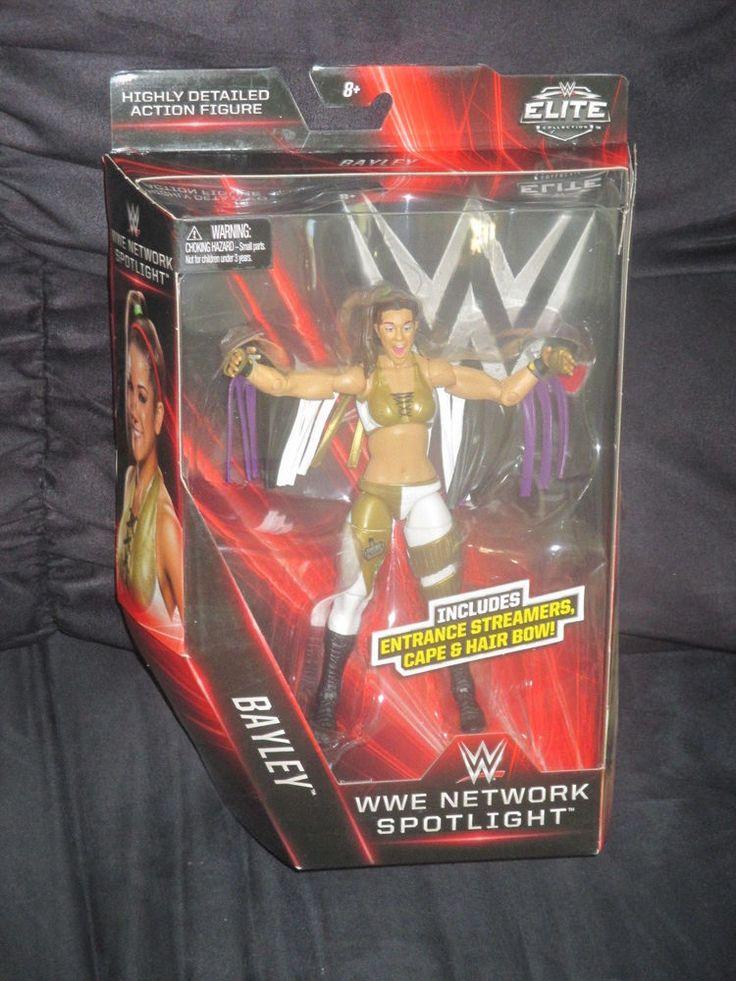 Bayley WWE Network Spotlight Mattel Elite TRU Exclusive NXT Figure-NIB VHTF  #Mattel