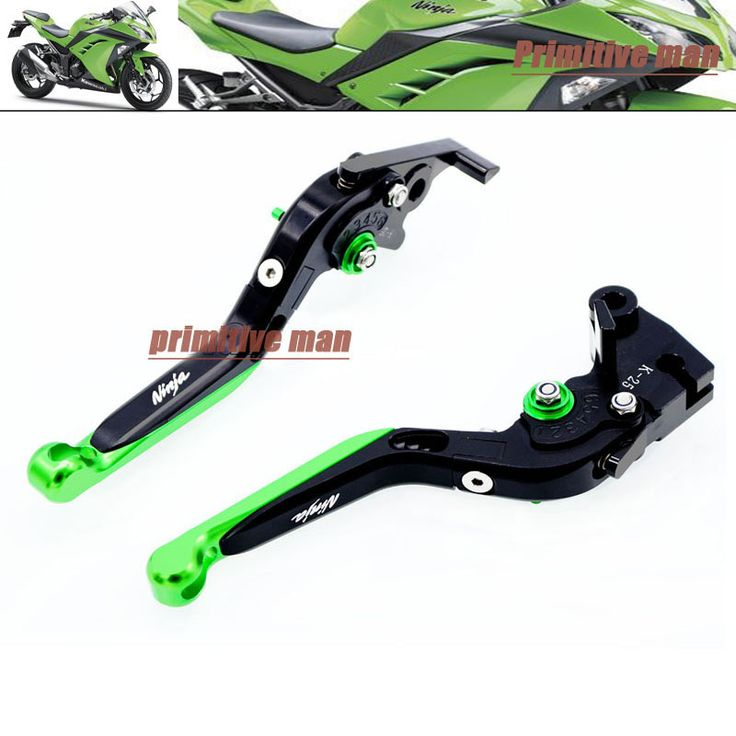 For KAWASAKI NINJA 250 NINJA300 2013-2015 Motorcycle Accessories Adjustable Folding Extendable Brake Clutch Levers #C