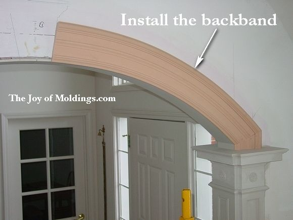 Flexible Molding For Arches With
