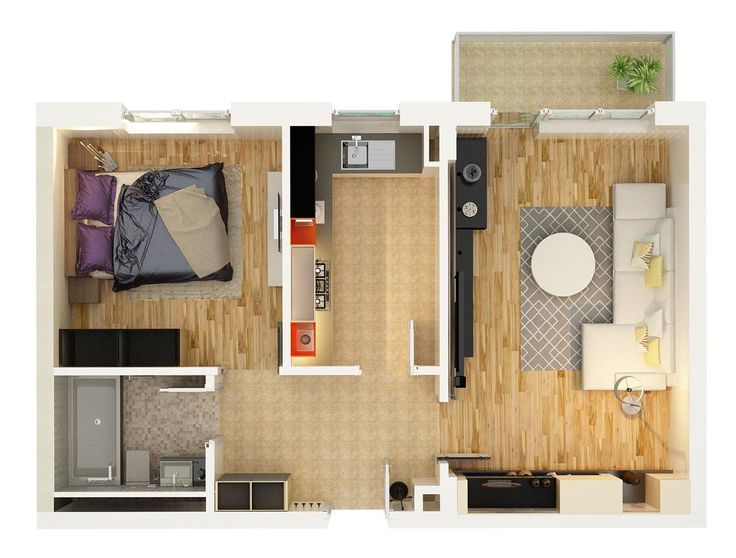 Vanzare apartament 2 camere Proiect 2016 , zona Tractorul Brasov 849