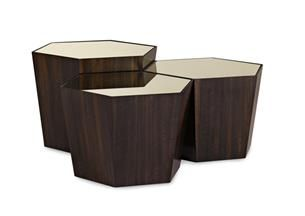 Either as 1 end table or 3 tables together. What's Your Point : Classic Contemporary : Occasional Tables : con-coctab-023   Caracole Furniture