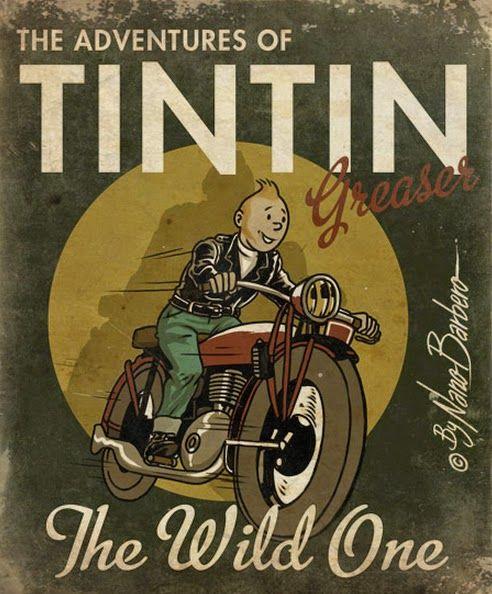 Tintin Greaser by Nano Barbero