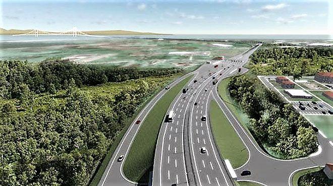 Kuzey Marmara Otoyolu`na 2.8 milyar dolarlık finansman   Kuzey Marmara Otoyolu (KMO)