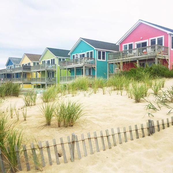 The Outer Banks, North Carolina. My sister had a house in Duck, N.C. on the Outer Banks. I spent many summers there. My favorite place to vacation!