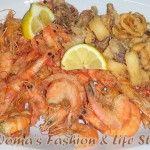 Fritto Misto Il fritto misto di calamari e gamberi è un classico secondo piatto di mare, preparato e gustato sia d'estate che d'inverno.