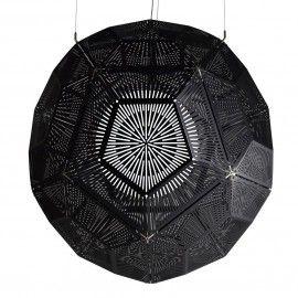 Replica Tom Dixon Punch Ball Pendant light - Black