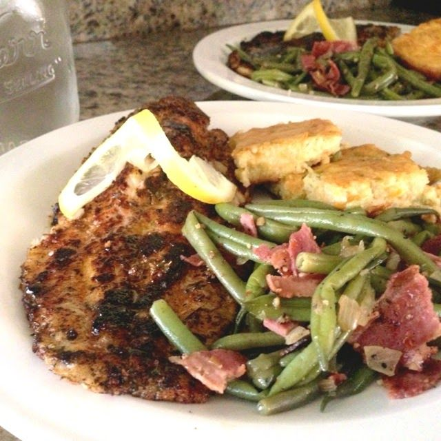 Southern Dish. Blackened Catfish | Munchiessss | Pinterest