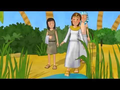 Moses in the basket (3-minute video)