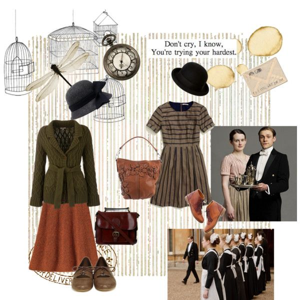 Oh William_Downton Abbey by whitekirin on Polyvore featuring mode, Madewell, Barbour, Steve Madden, Miss Selfridge, Brooks Brothers, Catarzi, BasicGrey, Frieda and Black Pearl