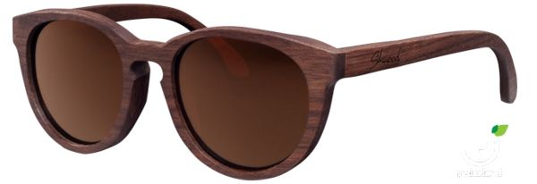 Oh my goodness, two of my favourite things: wood and glasses. Schwood walnut polarised glasses. Mmm.