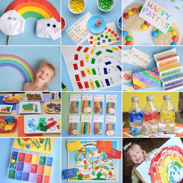 Even more fun, creative rainbow activities!
