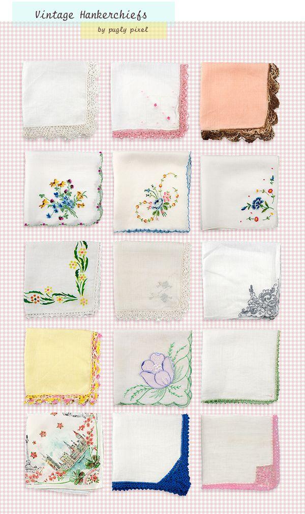 Textures:  Vintage Hanky PankyBlog Bling, Blog Image'S Treats, Vintage Handkerchief, Handkerchief Texture, Digital Handkerchief, Hankie Panky, Vintage Hankie, Hankie Texture, Pixel Blog