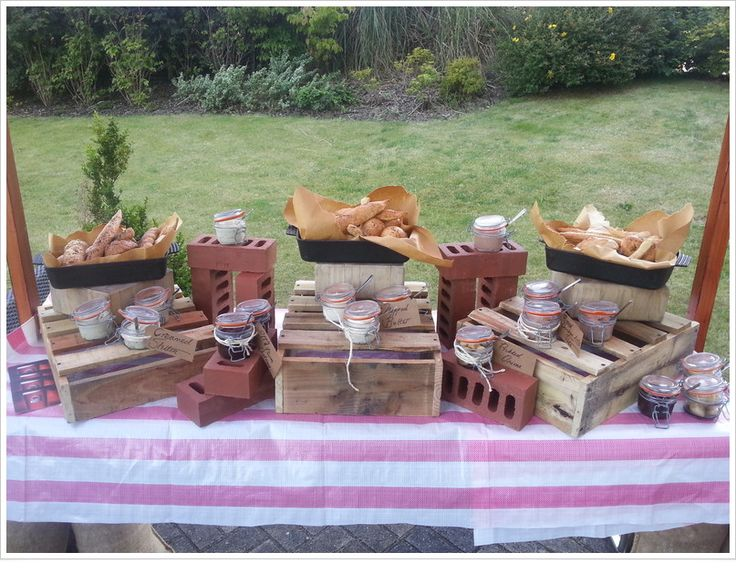 Outdoor Bread Station