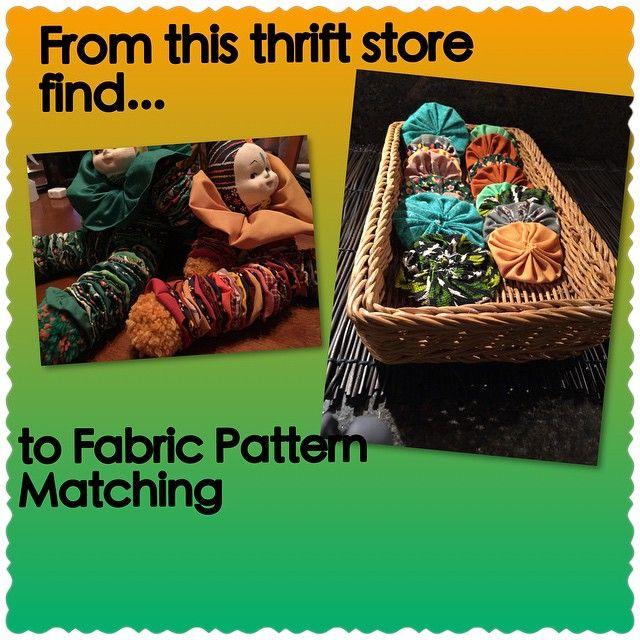 Fabric pattern matching