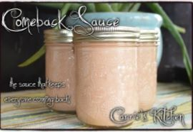 Canning Granny: Saucy... Comeback Sauce