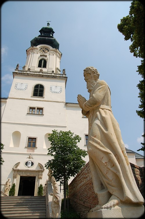 Slovakia, Nitra - Cathedral of St. Emmeram