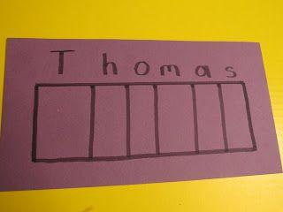 Create a name puzzle for your preschooler    Teach Preschool
