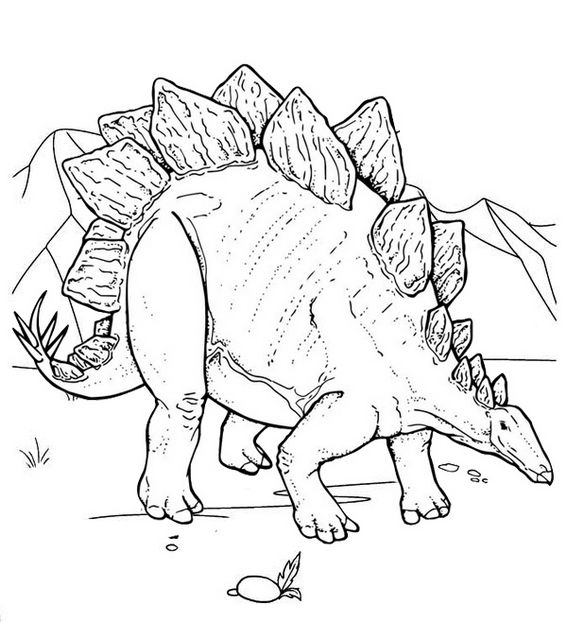 Top Stegosaurus Coloring Page For Children Dinosaur Coloring Pages Dinosaur Coloring Sheets Dinosaur Coloring