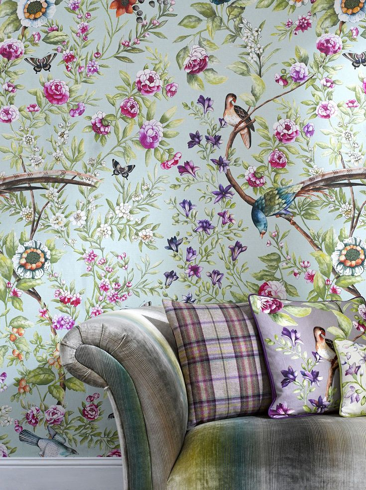 Wall Paper Designers modern designer wallpaper at 2modern 14 Beautiful Botanical Wallpaper Designs