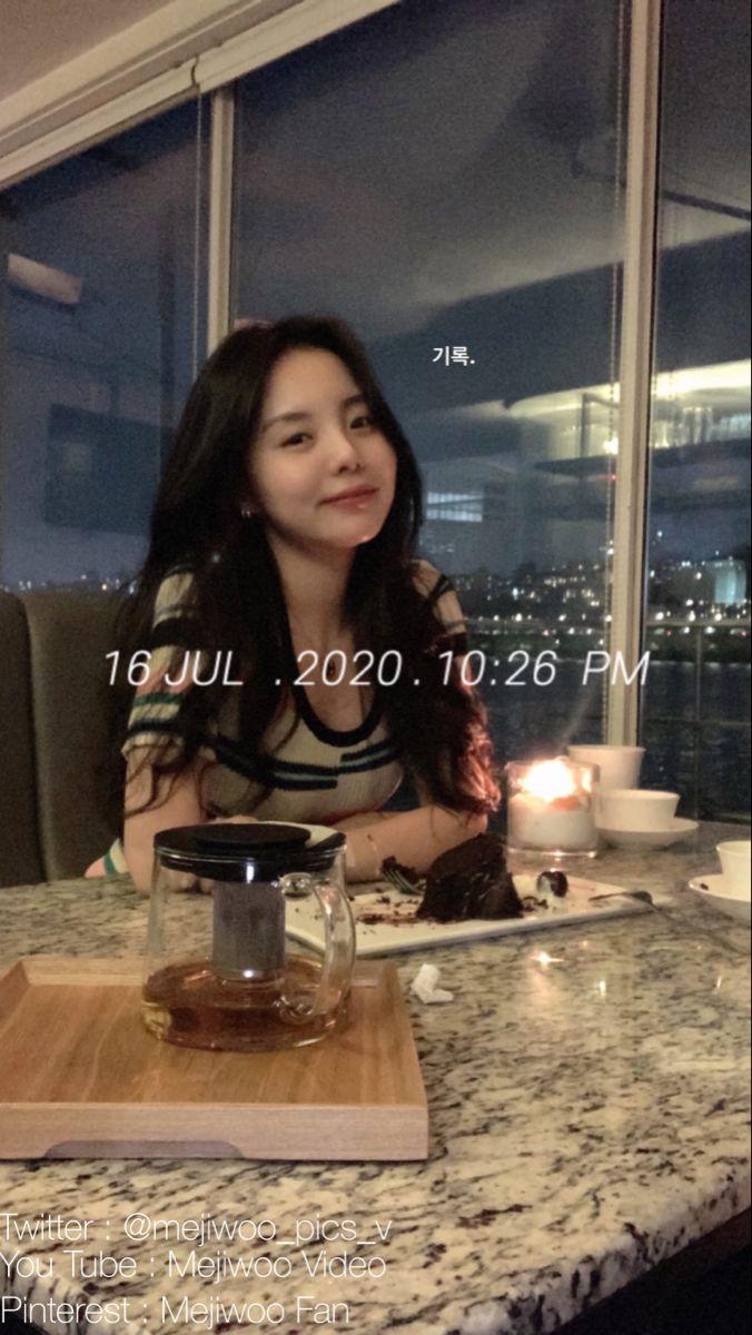 Mejiwoo Jhope Sister Ulzzang Korean Girl Influencers Fashion