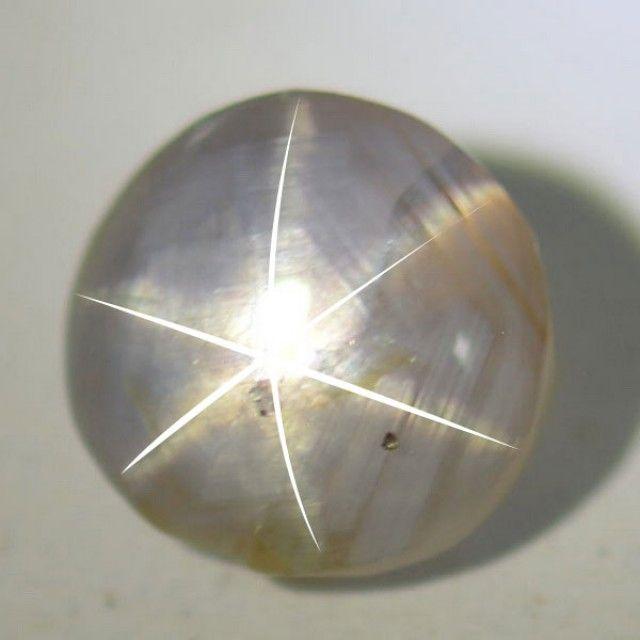 2.49 Cta Natural Grey Star Sapphire Srilanka Gemtone star  sapphire, cabochon sapphire