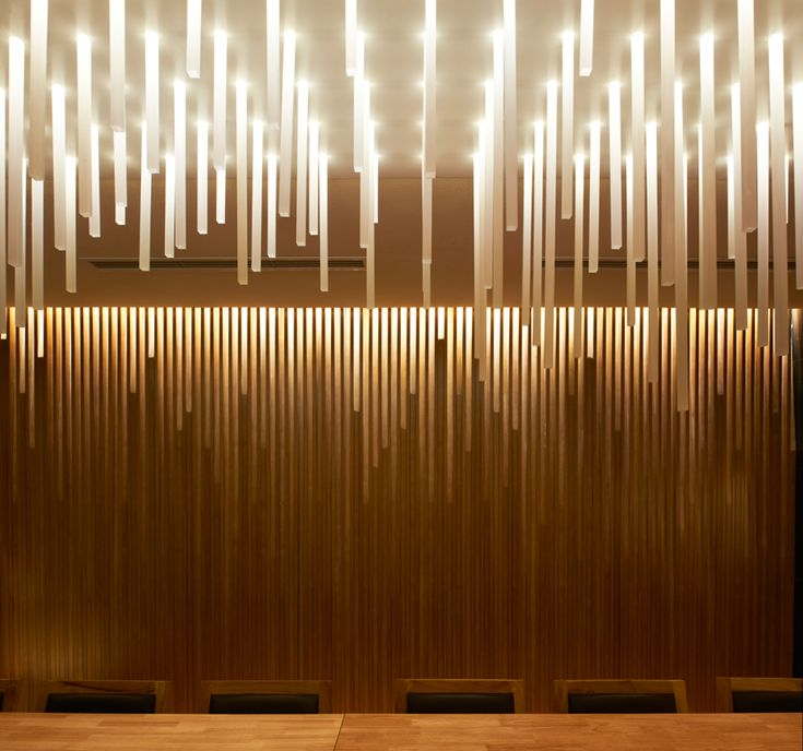 25 best ideas about japanese restaurant interior on for Waterfall restaurant design
