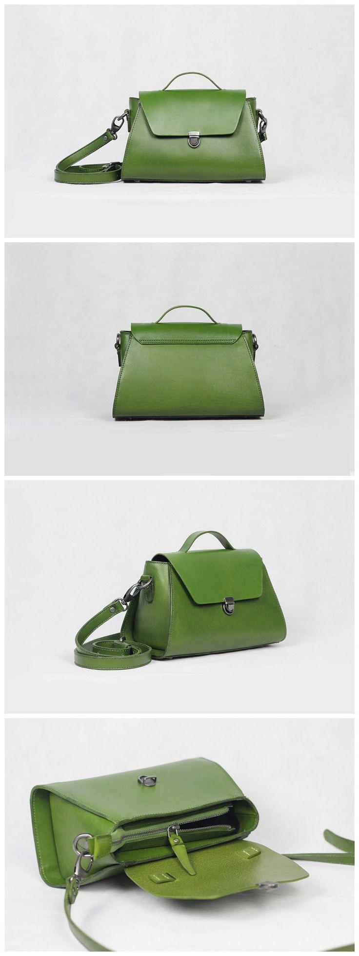 Genuine Leather Tote Bag Messenger Shoulder Lady Bag