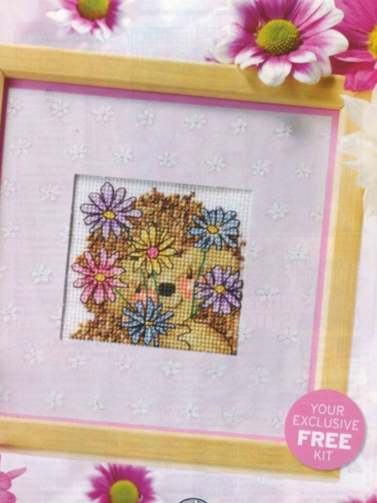 Country Companions Say it with Flowers The World of Cross Stitching Issue 109 April 2006 Saved