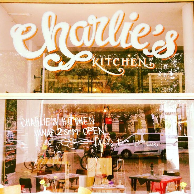 Charlie's Kitchen in Rotterdam, Zuid-Holland. Delicious and healthy lunches