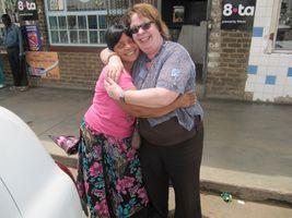 Verbondenheid met verpleegkundige Sibungile die zich hard inzet voor haar jonge landgenoten in Soweto (Zuid-Afrika)