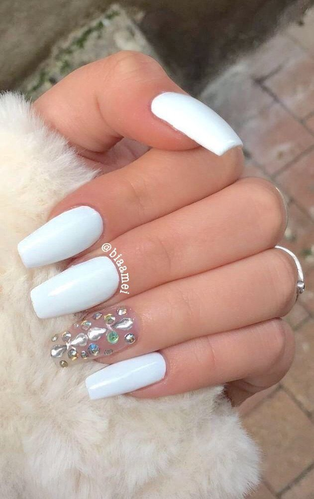 96 Simple Short Acrylic Summer Nails Designs For 2019 You Must Try 31 Elroystores Com Purple Acrylic Nails Short Acrylic Nails Simple Acrylic Nails