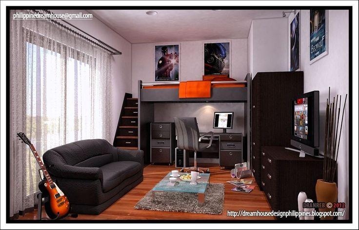 20+ Awesome Teenage Boys Bedroom Design Ideas