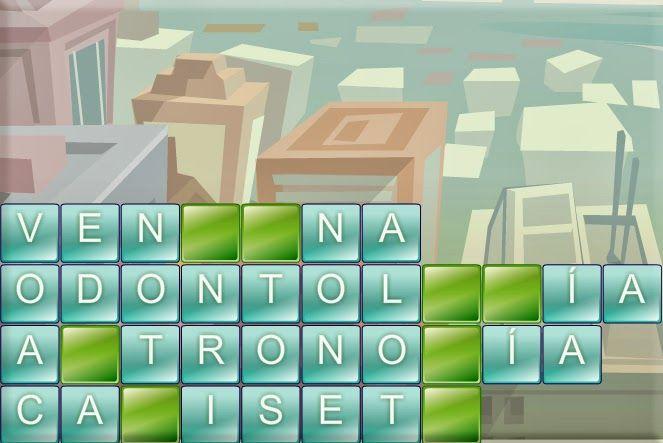 TORRE DE LETRAS: Juego de palabras tipo Tetris « Juegos gratis y Software Educativo