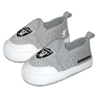 NFL Oakland Raiders PreWalk Baby Shoe