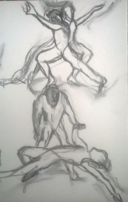 106 best Dibujo de la figura humana en movimiento images on