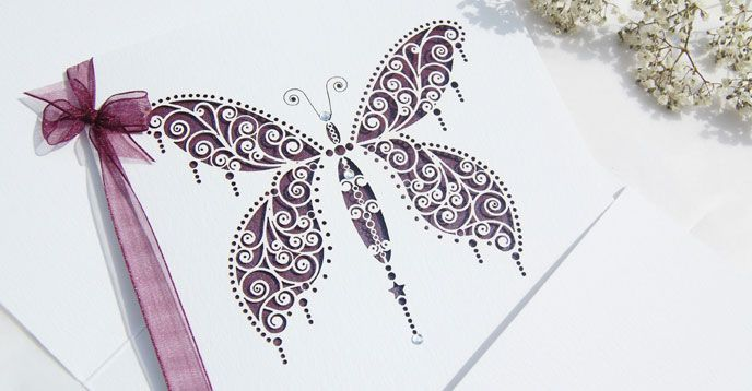 Best Wedding Stationery - The Hummingbird Card Company