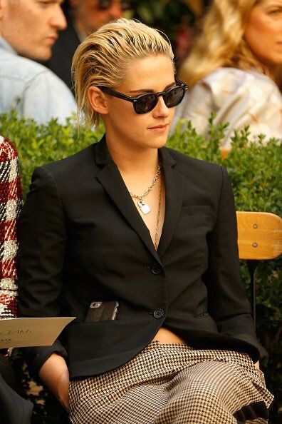 Tumblr Kristen at the Vogue/CFDA Fashion Show