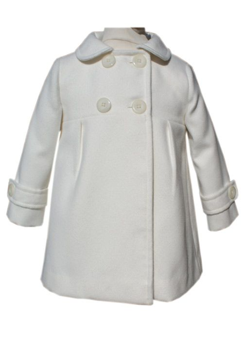 Snow white winters coat