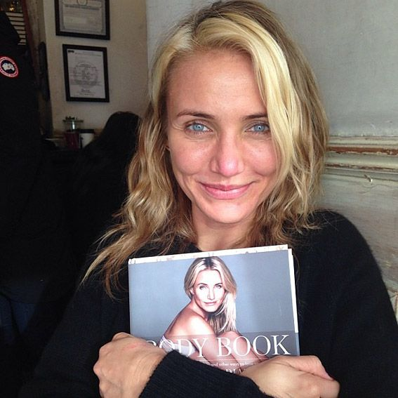 Bare-Faced Celebs: The Best No-Makeup Selfies on Instagram - Cameron Diaz from #InStyle