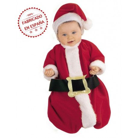Disfraz Saco de Papá Noel para Bebé #Santa #Claus #Bebe