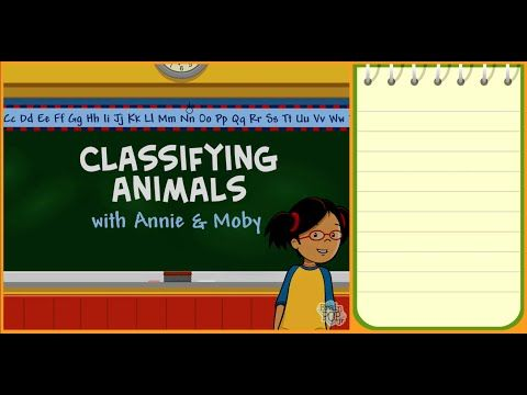 Classifying Animals (BrainPOP Jr.) - YouTube. Vertebrates vs Invertebrates