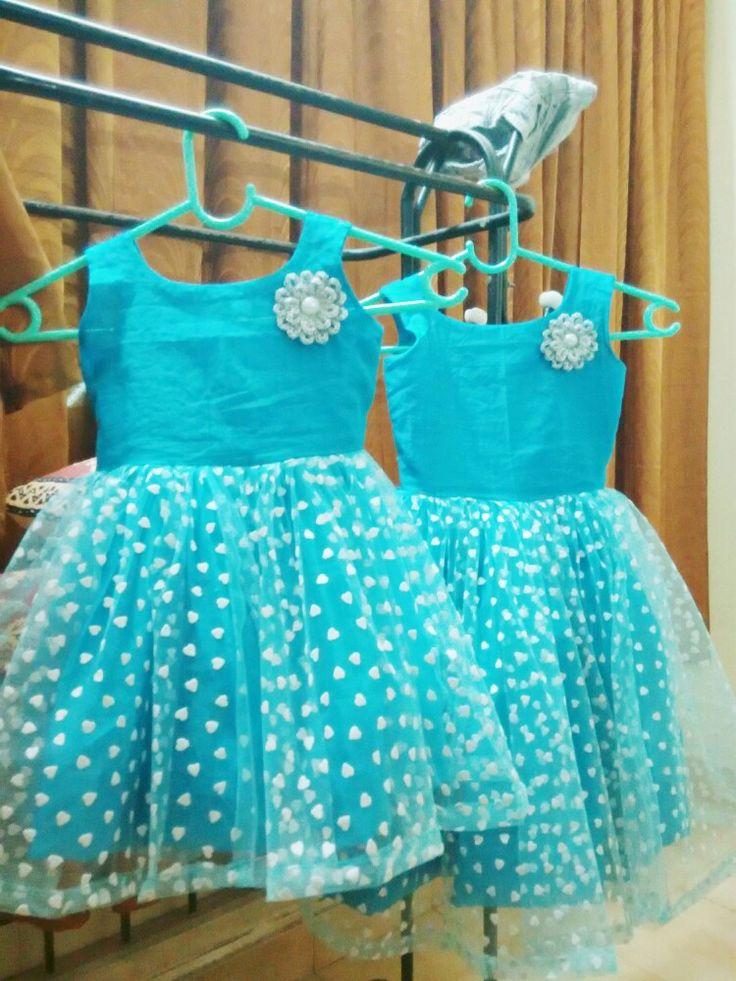 Kids Frock With Net Baby Dresses Pinterest Frocks
