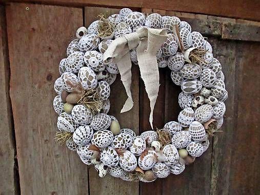 Katti-handmade / Veľkonočný veniec