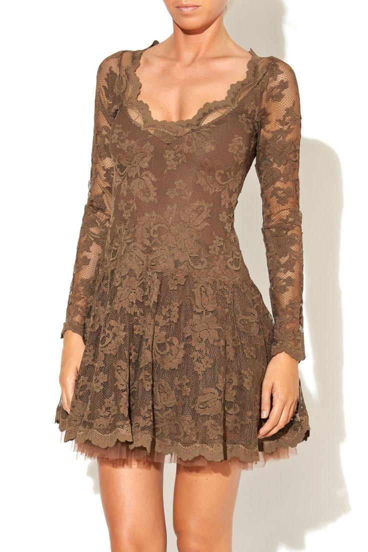 Long Sleeve Olvis Lace Dress - main